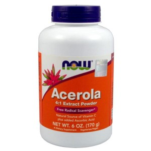 ACEROLA PROSZEK 170 G NOW FOODS