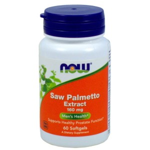 SAW PALMETTO EXTRACT 160MG 60 KAPS. - NOW FOODS